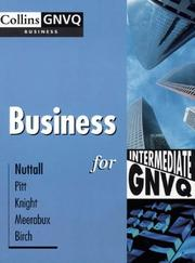 Cover of: Business for Intermediate GNVQ