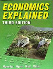 Cover of: Economics Explained
