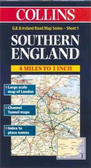 Cover of: Collins Southern England (Collins British Isles and Ireland Maps) |