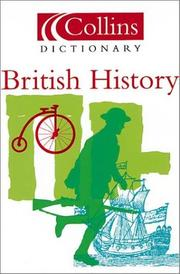 Cover of: Collins dictionary British history. |