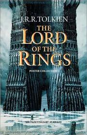 Cover of: Lord of the Rings Poster Collection 2