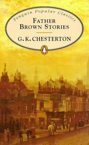 The Father Brown stories by G. K. Chesterton