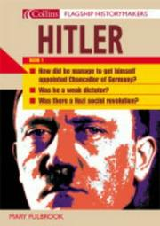 Cover of: Hitler (Flagship Historymakers)