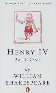 Cover of: Henry IV, Part 1