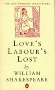 Cover of: Love's labour's lost by William Shakespeare