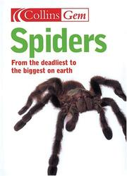 Cover of: Gem Spiders (Collins Gem) | Paul Hillyard