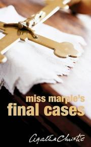 Cover of: Miss Marple's Final Cases