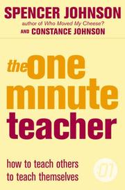 Cover of: The One-Minute Teacher (One Minute Manager)
