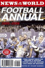 Cover of: News of the World Football Annual | Stuart Barnes