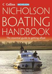 Cover of: Collins Nicholson Guide to Boating (Waterways Guide Ser.) | Martin Knowlden
