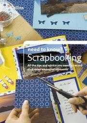 Cover of: Scrapbooking (Collins Need to Know?)