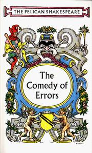 Cover of: The Comedy of Errors by William Shakespeare