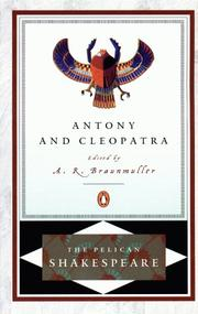 Cover of: Antony and Cleopatra by William Shakespeare