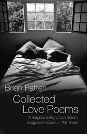 Cover of: Collected Love Poems | Brian Patten