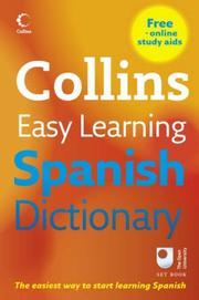 Cover of: Collins Easy Learning Spanish Dictionary (Easy Learning Dictionary) |