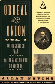 Cover of: Ordeal of the Union