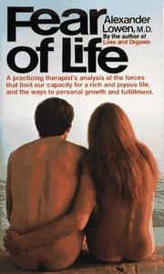 Cover of: Fear of life