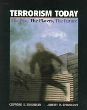 Cover of: Terrorism Today | Clifford E. Simonsen