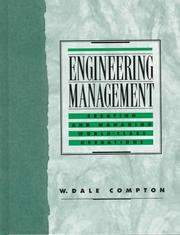 Cover of: Engineering Management