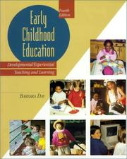 Cover of: Early Childhood Education | Barbara D. Day