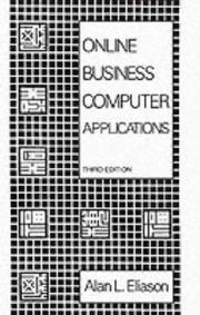 Cover of: Online business computer applications