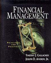 Cover of: Financial management