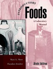 Cover of: Introductory foods