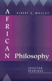 Cover of: African Philosophy