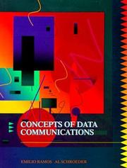 Cover of: Concepts of data communications