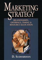 Cover of: Marketing strategy | Devanathan Sudharshan