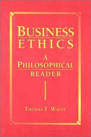 Cover of: Business ethics |