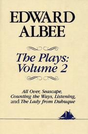 Cover of: PLAYS. VOL. II (Hudson River Editions) | Albee