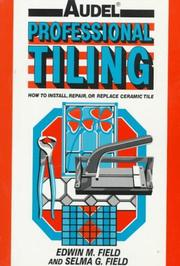 Professional tiling by Edwin M. Field