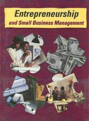 Cover of: Entrepreneurship and Small Business Management