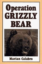 Cover of: Operation grizzly bear