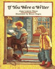 Cover of: If You Were a Writer