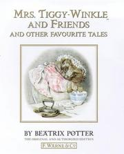 Cover of: Mrs. Tiggy-winkle and Friends