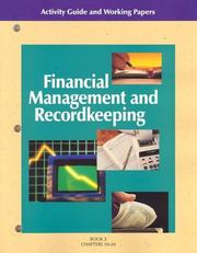 Cover of: Financial Management and Recordkeeping
