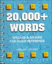 Cover of: 20,000+ Words | Charles E. Zoubek