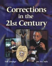 Cover of: Corrections in the 21st century
