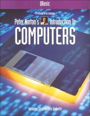Cover of: Qbasic: A Tutorial to Accompany Peter Norton's Introduction to Computers