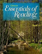 Cover of: Book 4 to accompany Glencoe Essentials of Reading Series | McGraw-Hill