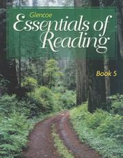 Cover of: Book 5 to accompany Glencoe Essentials of Reading Series | McGraw-Hill
