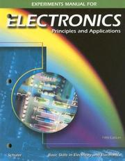 Cover of: Electronics