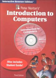 Peter Norton's Introduction to Computers by Peter Norton