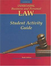 Cover of: Understanding Business and Personal Law, Student Activity Guide | McGraw-Hill