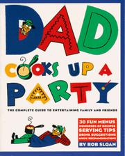 Cover of: Dad cooks up a party