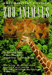 Cover of: Zoo animals | Michael H. Robinson
