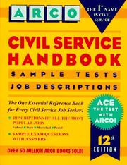 Cover of: Civil service handbook