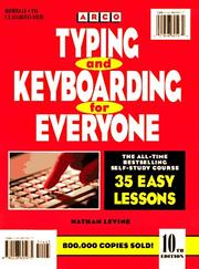 Cover of: Typing and Keyboard for Everyone (Typing and Keyboarding for Everyone)